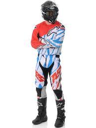 motocross jersey alpinestars red white blue 2015 techstar mx jersey alpinestars