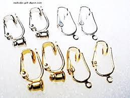 clip on earring converter clip on earring converters for post stud or dangle