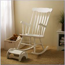 Nursery Room Rocking Chair by Furniture Lovely White Carved Wooden Nursery Rocking Chair And