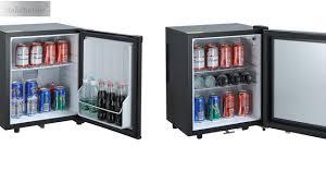 low price hotel 30 liter dometic black glass door mini bar fridge