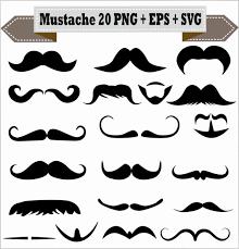 Goatee Meme - mustache styles meme emoji beard goatee silhouette vector clipart