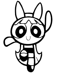 free printable powerpuff girls coloring pages kids