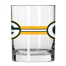 rocks glass green bay packers stripe rocks glass at the packers pro shop