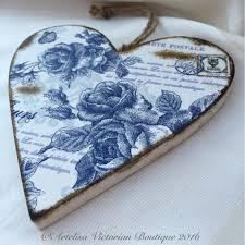 39 best artelisa victorian boutique decoupage hanging hearts