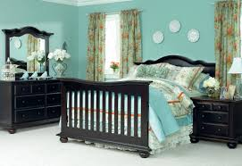 Solid Wood Bedroom Furniture Made In America Echelon Diya In Espresso Converted From Crib To Full Size Bed