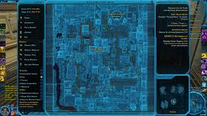 Swtor Map Corellia Willpower Datacron Location