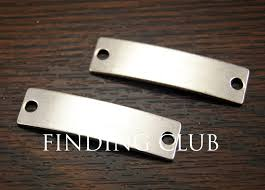 diy metal bracelet images 15 pcs antique silver blank plates hand stamping tags personalized jpg