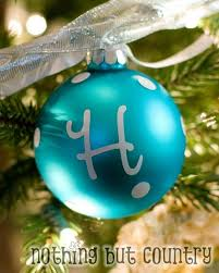 easy personalized ornaments nothing but country