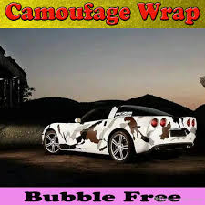 car wrapping paper 2017 sports arctic camouflage vinyl car wrap with air
