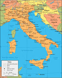 map of italy images italy map and satellite image