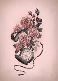 Feminine Clock - 256 best tats images on drawings board and family tattoos