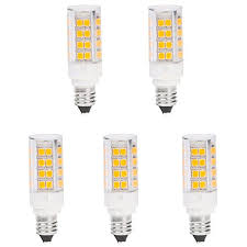 led e11 51s ww mini candelabra e11 base t4 jd 120v led