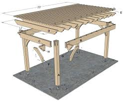 Easy Diy Pergola by Cheap Easy Diy Pergola How To Build A Pergola Right In Your