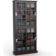 Multimedia Cabinet With Glass Doors Atlantic Windowpane Media Cabinet With Sliding Glass