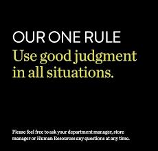 nordstrom help desk for employees nordstrom s employee handbook has only one rule employee handbook