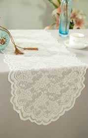 lace table runners wedding ivory lace table runners wedding