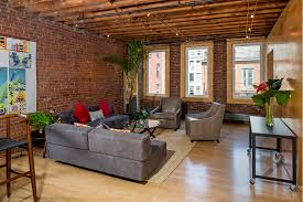 exposed brick abounds in this full floor soho loft renting for 10