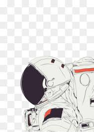 astronaut spacesuit outer space black and white astronaut png