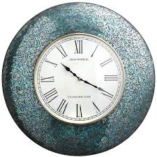 Peacock Pillow Pier One by Pier 1 Peacock Mosaic Clock Makes Watching Time Beautiful Home