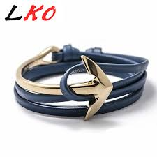 black fashion jewelry bracelet images Fast ship new arrival fashion jewelry pu leather bracelet men half jpg