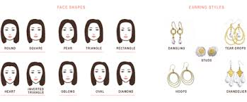 earrings styles how to choose the right earring style for your shape