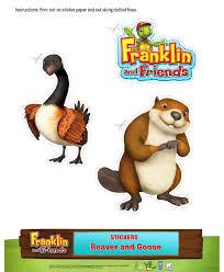 105 franklin u0026 friends printables images