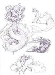 momo hunter summer sketches mermaids and kirins