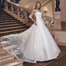 key back wedding dress wedding dress luxury vintage organza lace 2017 sequined beaded
