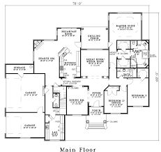 his and bathroom floor plans traditional house plan 151628 home plans