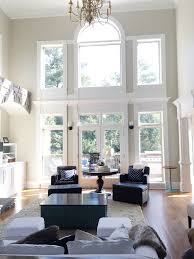 Gray Walls With White Trim by The Power Of Paint Living Room Before U0026 Afters Bower Power