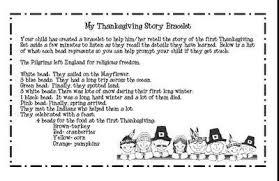 thanksgiving story bracelet activity thanksgiving ideas juxtapost