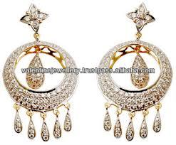 danglers earrings design yellow gold drop design danglers party wear earrings buy