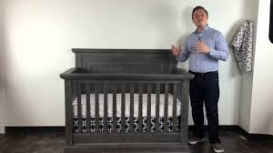Pali Toddler Rail Pali Modena Convertible Crib Collection In Granite Youtube
