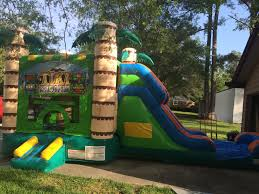 party rentals jacksonville fl 3 in 1 tiki combo n motion