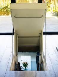 glass basement doors clear view glass door hatch for staircase to 3rd floor studio