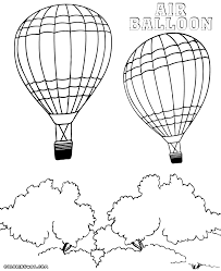 air balloon coloring pages coloring pages to download and print