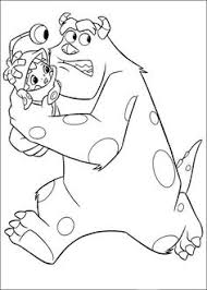 monsters university coloring pages monsters coloring pages