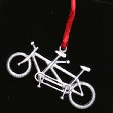 bicycle gift hub tandem ornament tandem