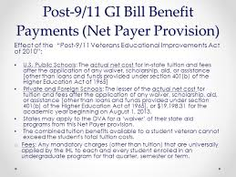 the post 9 11 veterans educational assistance act of 2008 the