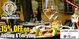 what is multi cuisine restaurant rustico multi cuisine restaurant fort mumbai coupons deals offers 2018