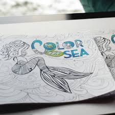 color the sea coloring book octopus ink octopus ink