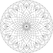 free printable mandala coloring pages adults art gallery