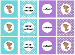 free printable halloween cupcake toppers we heart parties free printables girly puppy dog birthday party