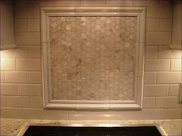 kitchen small subway tile backsplash beveled glass subway tile