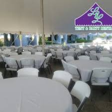 Round Tables For Rent by L U0026 L Tent U0026 Party Rentals 10 Photos Party U0026 Event Planning
