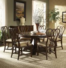 Round Formal Dining Room Tables Traditional Round Dining Table With Inlay By Fine Furniture Design