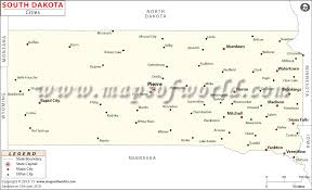 south dakota map with cities cities in south dakota south dakota cities map