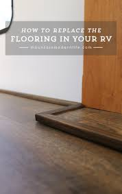 How To Lay Laminate Floors How To Replace Rv Flooring Mountainmodernlife Com