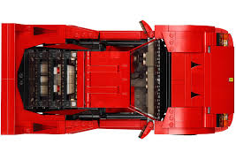 lego ferrari f40 lego ferrari f40 announced iconic 1987 supercar u0027s blockbuster toy