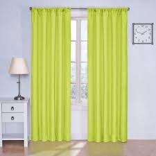 Lime Green Sheer Curtains Charming Green Blackout Curtains And 2017 Green Willow Sheer